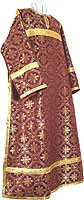 Clergy stikharion - rayon brocade S3 (claret-gold)