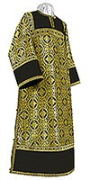 Clergy stikharion - rayon brocade S3 (black-gold)