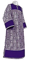 Clergy stikharion - rayon brocade S3 (violet-silver)