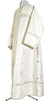 Clergy stikharion - rayon brocade S3 (white-silver)