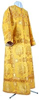 Clergy stikharion - rayon brocade S4 (yellow-claret-gold)