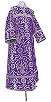 Clergy stikharion - rayon brocade S4 (violet-silver)
