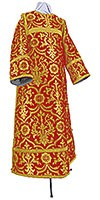 Clergy stikharion - rayon brocade S4 (red-gold)