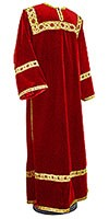 Clergy stikharion - German velvet (red-gold)