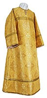 Altar server stikharion - metallic brocade B (yellow-gold)