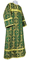 Altar server stikharion - metallic brocade B (green-gold)