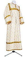 Altar server stikharion - metallic brocade B (white-gold)