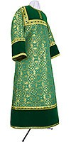 Altar server stikharion - metallic brocade BG1 (green-gold)
