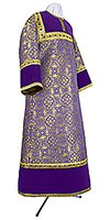 Altar server stikharion - metallic brocade BG1 (violet-gold)