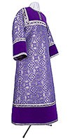 Altar server stikharion - metallic brocade BG1 (violet-silver)