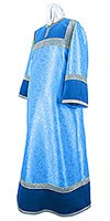 Altar server stikharion - metallic brocade BG5 (blue-silver)