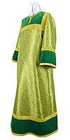 Altar server stikharion - metallic brocade BG4 (green-gold)