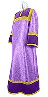 Altar server stikharion - metallic brocade BG4 (violet-gold)