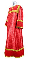 Altar server stikharion - metallic brocade BG4 (red-gold)