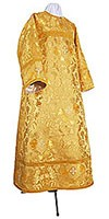 Altar server stikharion - metallic brocade BG6 (yellow-gold)