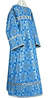 Altar server stikharion - rayon brocade S2 (blue-silver)
