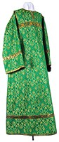 Altar server stikharion - rayon brocade S2 (green-gold)