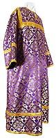 Altar server stikharion - rayon brocade S2 (violet-gold)