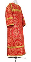 Altar server stikharion - rayon brocade S2 (red-gold)