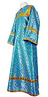 Altar server stikharion - rayon brocade S3 (blue-gold)