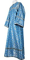 Altar server stikharion - rayon brocade S3 (blue-silver)