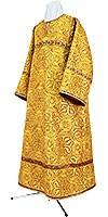 Altar server stikharion - rayon brocade S3 (yellow-claret-gold)