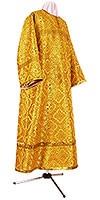 Altar server stikharion - rayon brocade S2 (yellow-claret-gold)