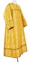 Altar server stikharion - rayon brocade S3 (yellow-gold)