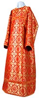 Altar server stikharion - rayon brocade S3 (red-gold)