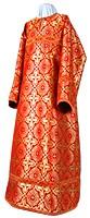 Altar server stikharion - rayon brocade S3 (red-gold)