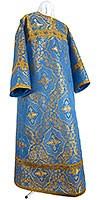 Altar server stikharion - rayon brocade S4 (blue-gold)