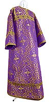 Altar server stikharion - rayon brocade S4 (violet-gold)