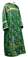 Altar server stikharion - Chinese rayon brocade (green-gold)