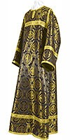 Child stikharion (alb) - metallic brocade B (black-gold)
