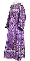 Child stikharion (alb) - metallic brocade B (violet-silver)