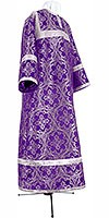 Child stikharion (alb) - metallic brocade BG1 (violet-silver)