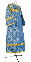 Child stikharion (alb) - rayon brocade S2 (blue-gold)