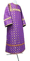 Child stikharion (alb) - rayon brocade S2 (violet-gold)