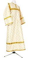 Child stikharion (alb) - rayon brocade S2 (white-gold)