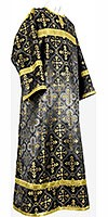 Child stikharion (alb) - rayon brocade S4 (black-gold)