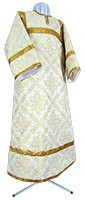 Child stikharion (alb) - rayon brocade S3 (white-gold)