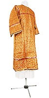 Child stikharion (alb) - rayon brocade S4 (yellow-gold)
