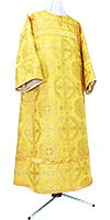 Child stikharion (alb) - rayon brocade S4 (yellow-claret-gold)