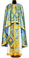 Greek Priest vestments - Economy Patras blue