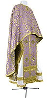 Greek Priest vestment -  rayon brocade S2 (violet-gold)