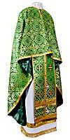 Greek Priest vestment -  rayon brocade S3 (green-gold)