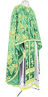 Greek Priest vestment -  rayon Chinese brocade (green-gold)