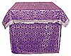 Holy Table vestments - brocade BG1 (violet-silver)