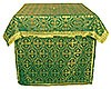 Altar Table vestments - brocade BG3 (green-gold)