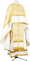 """Greek Priest vestment set 40""""/5'6"""" (52/168) with a set of veils and air -"""